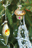 Home and lantern christmas decoration — Stock Photo