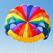 Canopy of parachute for parasailing — Foto de Stock