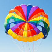 Canopy of parachute for parasailing — Foto de Stock
