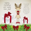 Rudolph the reindeer - Stockvectorbeeld
