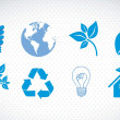 Ecological icons — Stock Vector #12761995