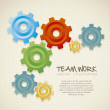 Color gears — Stock Vector #12762153