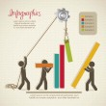 Постер, плакат: Infographics