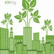 Постер, плакат: Ecological the cityn