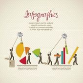 Infografiken — Stockvektor