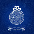 Christmas ball hanging on — Stock Vector #13183697