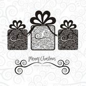 Christmas gifts — Stock Vector