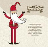 Modern Santa Claus — Stock Vector