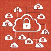 Network security — Stock Vector