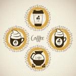 Coffee icons — Stock Vector #13619963