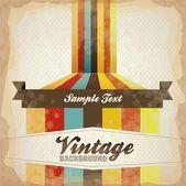 Illustration of Vintage Poster Art — Stock Vector