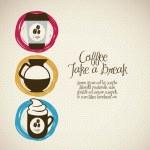 Coffee icons — Stock Vector #13620114