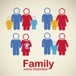 Family icons — Stock Vector #13708446