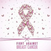 Breast cancer — Wektor stockowy
