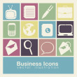Royalty-Free Stock Vector Image: Business icons