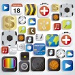 Stock Vector: App icons