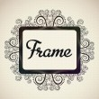 Bright frame - Stock Vector