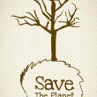 Save the Planet - Stock Vector
