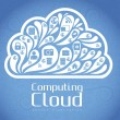 Cloud Icon — Stock Vector #14498753