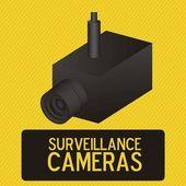 Security Camera — Stock Vector