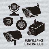 セキュリティ カメラ — ストックベクタ