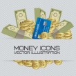 Money Icons — Stock vektor #15255319