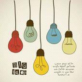 Icône idée — Vecteur