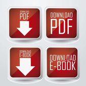 Scaricare ebook — Vettoriale Stock