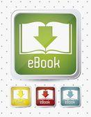 κατεβάσετε ebook — Διανυσματικό Αρχείο