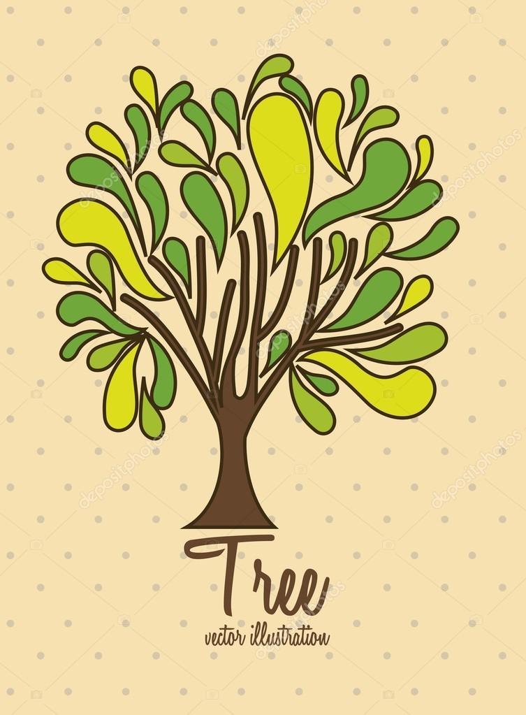 树图标 — 图库矢量图像08