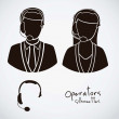Operators — Stock Vector