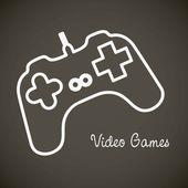 Ikony gier wideo — Wektor stockowy