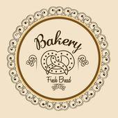 Bakery icon — Stock Vector