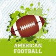 American football — Stock Vector #18692217