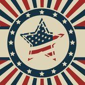 Patriot Background — Stock Vector