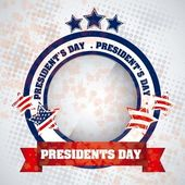 President's Day in USA — Stock Vector
