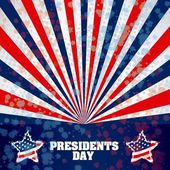 President's Day in USA — Stock Vector