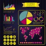 Tourism infographics — Stock Vector #19038893