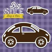 Buy a car — Stock Vector