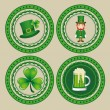 Saint Patrick&#039;s Day - Imagens vectoriais em stock
