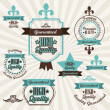 Premium Labels - Stock Vector