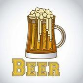 Beer label — Stock Vector