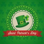 Saint Patrick's Day — Stockvektor