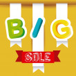 Big Sale Icons and Labels — Stock Vector #20119891