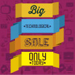 Big Sale Icons and Labels — Stock Vector #20121819