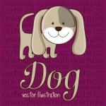 Cute dog — Stock Vector #20533029