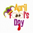 April Fool's Day — Stock Vector