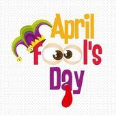 April Fool's Day — Vetor de Stock
