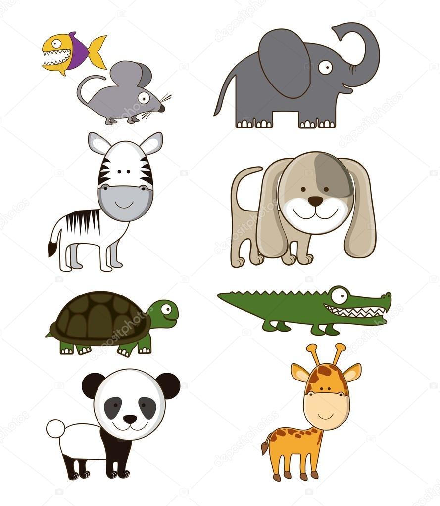 Tiere Symbole
