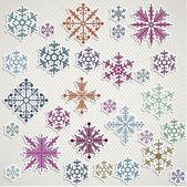 зимний символ — Cтоковый вектор